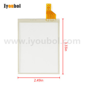 TOUCH SCREEN (Digitizer) for Honeywell Dolphin 6510 (version 2)