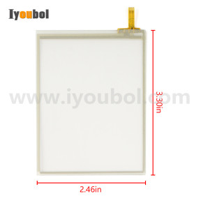 TOUCH SCREEN (Digitizer) for Honeywell Dolphin 6510 (for Truly version)