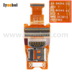 Symbol MC9190-Z Flex Cable for Keypad, Battery, SD Card (24-84046-02)