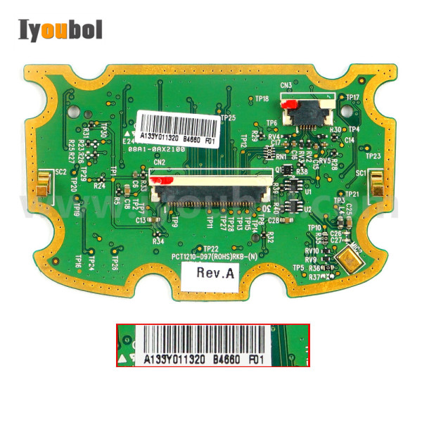 Keypad PCB (Numeric) Replacement for Symbol MC67