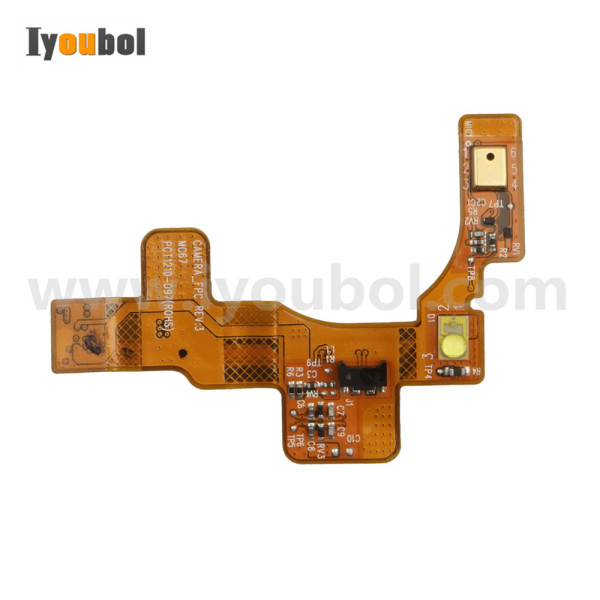 Camera Flash with Microphone Flex Cable (version 2) for Symbol MC67