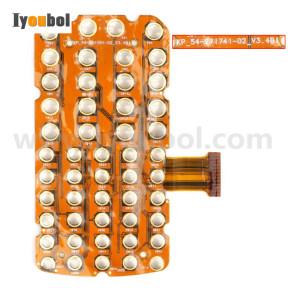 Myler Keyswitch (48-Key) for Motorola Symbol MC32N0-G MC32N0-R MC32N0-S