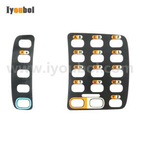 Set of Keypad Nameplate/ Overlay for Symbol WT4090