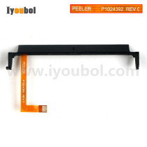 Peeler Bail with Label Present Sensor Flex Cable for Replacement Zebra QLN320 Mobile Printer