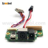 Power Belize I/O PCB (145-325﹣000) Replacement for Intermec PB51 Mobile Printer