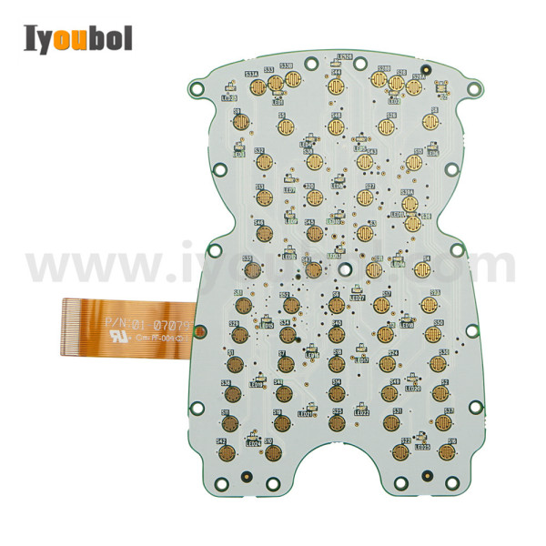 Keypad PCB Replacement for Honeywell LXE MX5 MX5X(52-key)