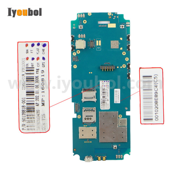 Motherboard Replacement for Honeywell EDA50K