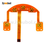 Keypad PCB with flex cable Replacement for Zebra P4T