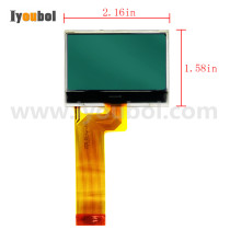 LCD with Flex cable Replacement for Zebra P4T