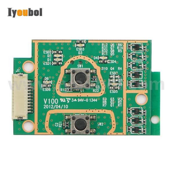 Power Keyswitch PCB for Zebra EM220II