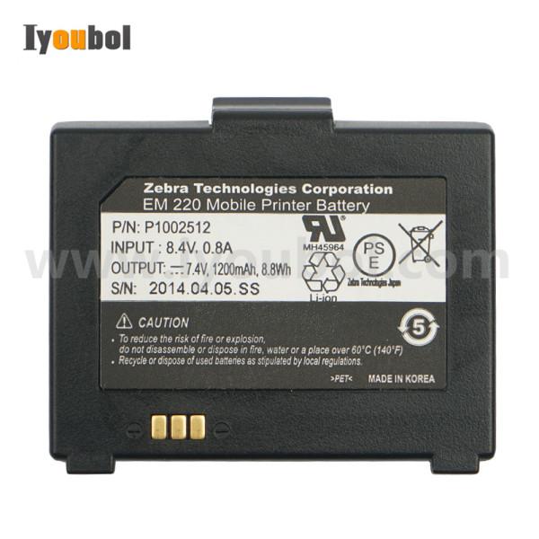 Battery for ZEBRA EM 220, EM 220 Mobile Printer ( P/N P1002512, P1002514 )