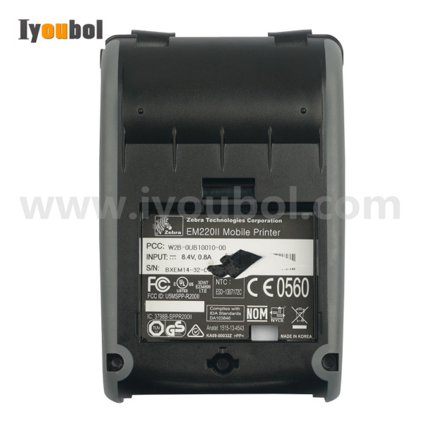 Back Cover Replacement for Zebra EM220II