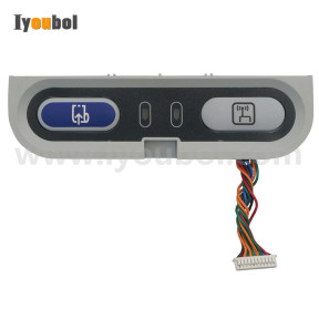Menu Keypad with PCB Cable Replacement For Intermec PB42