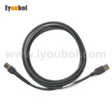 Symbol (Series A Connector) USB Scanner Cable for Symbol DS4208-SR (25-53492-22) (2 Meters)