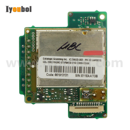 Motherboard for Datalogic PowerScan M8300-910MHZ (Code:661913131 S/N:L08C11382)