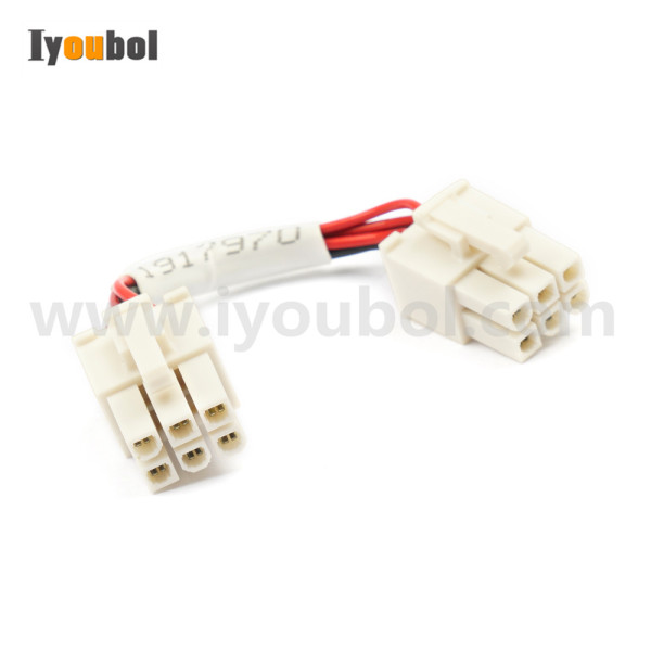 Power PCB 6 pins cable for Motorola Symbol Zebra VC80