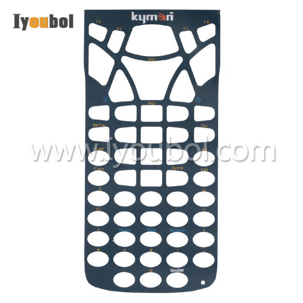 Keypad Overlay (54-Key) Replacement for Datalogic Kyman