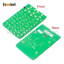 Keypad PCB (55-Key) for Psion Teklogix Workabout Pro4, 7528X (Long)