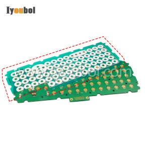 Keypad Myler Keyswitch  (ABCDE 1008089-001) Replacement Psion Teklogix 8525-G2