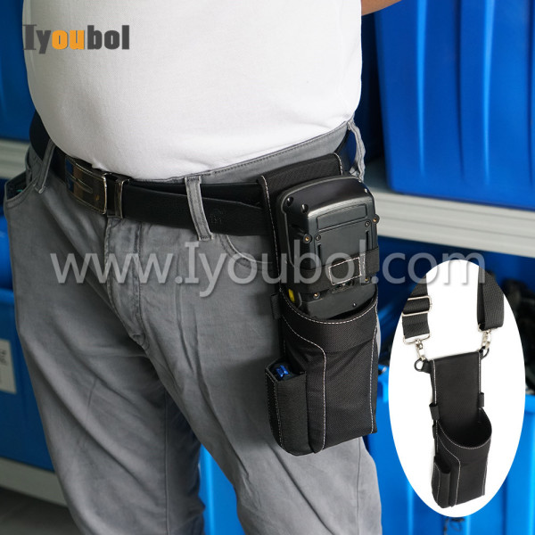 Soft material holster for Psion Teklogix Workabout Pro 7525-S-G1