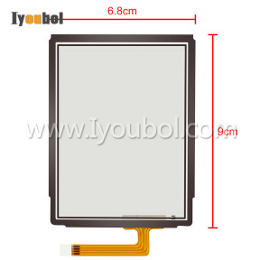 Touch Screen Digitizer Replacement for Psion Teklogix Workabout Pro G2, 7525s