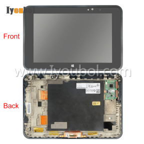 LCD Module with Touch Screen Digitizer and Front Cover for Zebra Symbol Motorola ET50(10 inch)