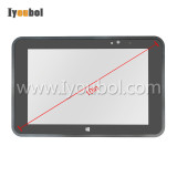 Touch Screen with Front Cover Replacement for Zebra Symbol Motorola ET50(10 inch)