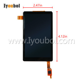 LCD with Touch Digitizer (Windows Version) for Honeywell Dolphin 75e