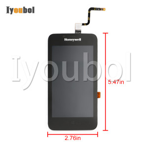 LCD with Touch Digitizer ( 2nd version, black color ) for Honeywell Dolphin CT50