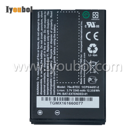 Battey 3340mAh (70e-BTEC 50121730-001) for Dolphin 70e