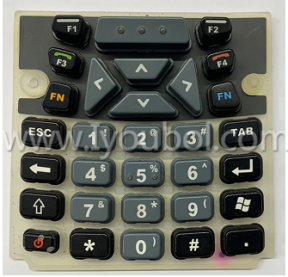Keypad Replacement (31-Key, Numeric) for Psion Teklogix Workabout Pro 3, 7527s-G3