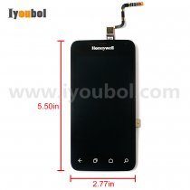 LCD with Touch Digitizer with Front Cover for Honeywell Dolphin CT50