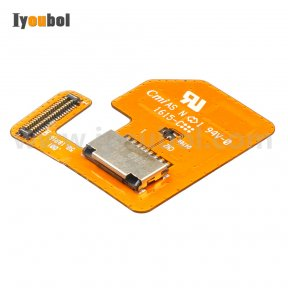 MicroSD Card Connector with Flex Cable for Motorola Symbol TC70 TC75