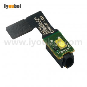 Audio Jack with flash Flex Cable for Motorola TC55 TC55AH TC55BH TC55CH