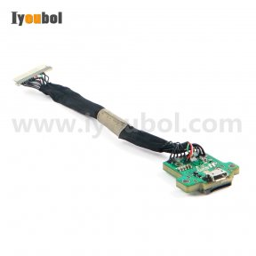 MicroUSB connector with PCB flex cable for Mototola Symbol VC70N0