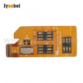 Sim Card Connector with Flex Cable Replacement for Symbol TC75