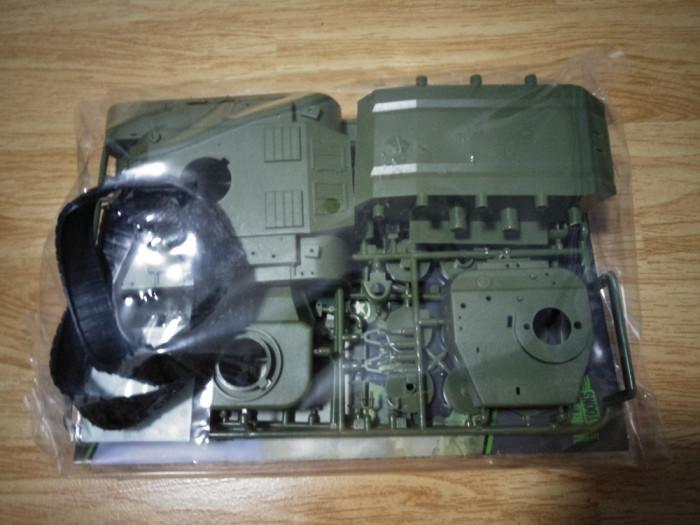 Meng WWT-010 US Heavy Tank M26 Pershing Q Edition Plastic Assembly Model Kit