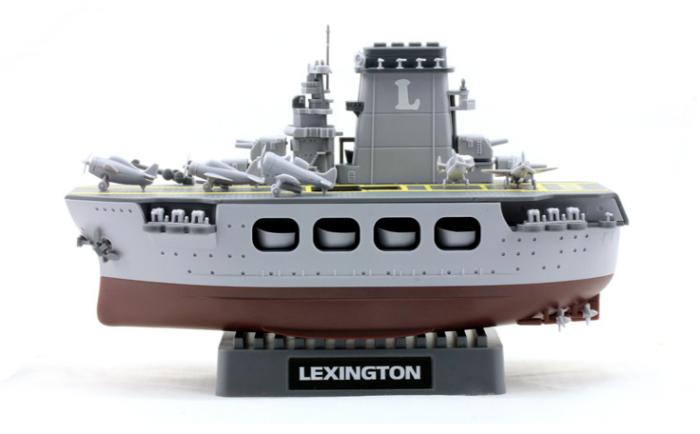Meng WB-001 Warship Builder Lexington (Q Edition) Plastic Assembly Model Kit
