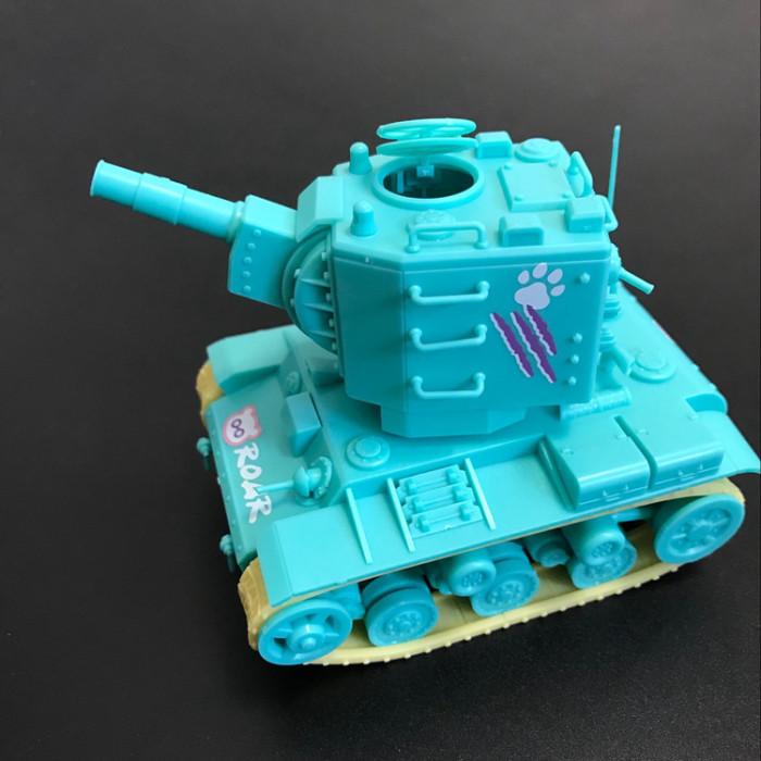 Meng WWP-004 KV-2 Heavy Tank Q Edition Plastic Assembly Model Kit