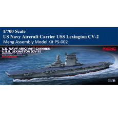 MENG PS-002 1/700 Scale US Navy Aircraft Carrier USS Lexington CV-2 Assembly Model Kit
