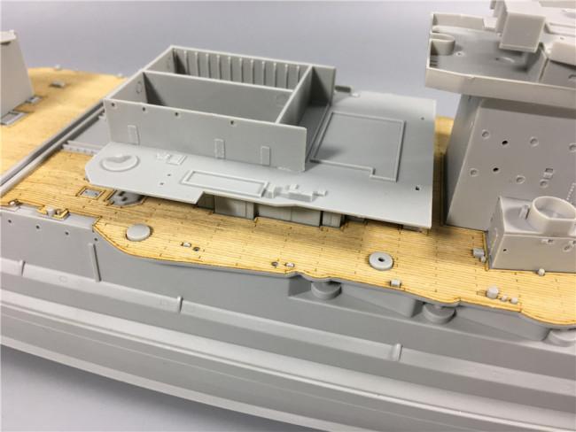 perfeclan 1//350 Das Italienische Schlachtschiff Roma Battleship Wood Deck Mit Ankerkette