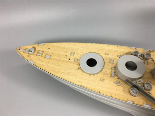 Wooden Deck for Trumpeter 05325 1/350 Scale HMS Warspite 1942 Battleship Model CY350025