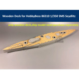 Wooden Deck for HobbyBoss 86510 1/350 Scale SMS Seydlitz Model CY350037
