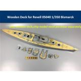Wooden Deck for Revell 05040 1/350 Scale Battleship Bismarck Model CY350034