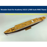 Wooden Deck for Academy 14215 1/400 Scale RMS Titanic Model CY350044 with Anchor Chain