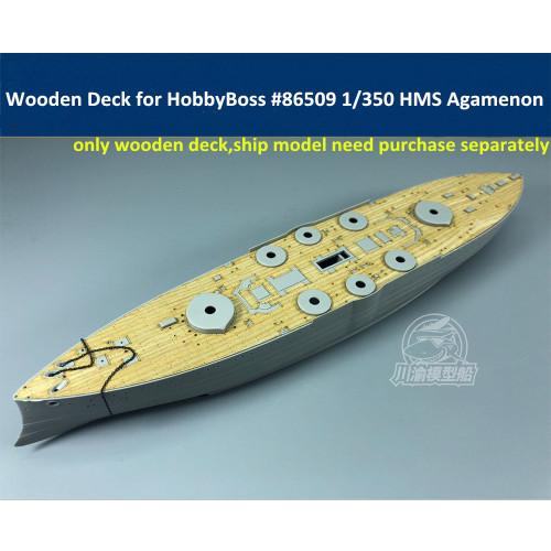 Wooden Deck for HobbyBoss 86509 1/350 Scale HMS Agamenon Model CY350047
