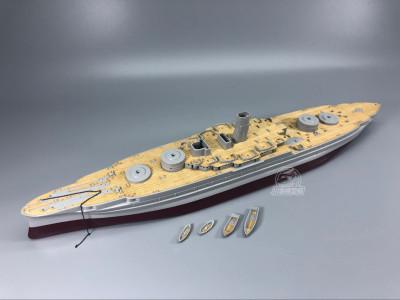 Wooden Deck for HobbyBoss 86501 1/350 Scale USS Arizona BB-39 1941 Model CY350046