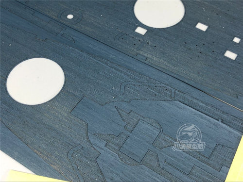 Wooden Deck Blue for Very Fire VF350911 1/350 Scale USS New Jersey Model CY350054