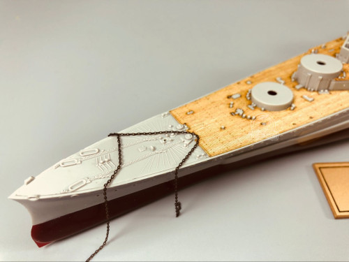 Wooden Deck for Trumpeter 05763 1/700 Scale HMS Repulse 1941 Model CY700037