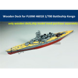 Wooden Deck for FUJIMI 46018 1/700 Scale IJN Battleship Kongo Model CY700026
